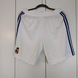 adidas Real Madrid 10/11 Home shorts